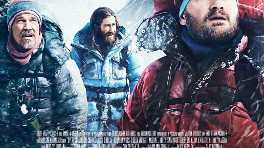 """Jake Gyllenhaal: Für """"Everest"""" in echter Lebensgefahr!"""