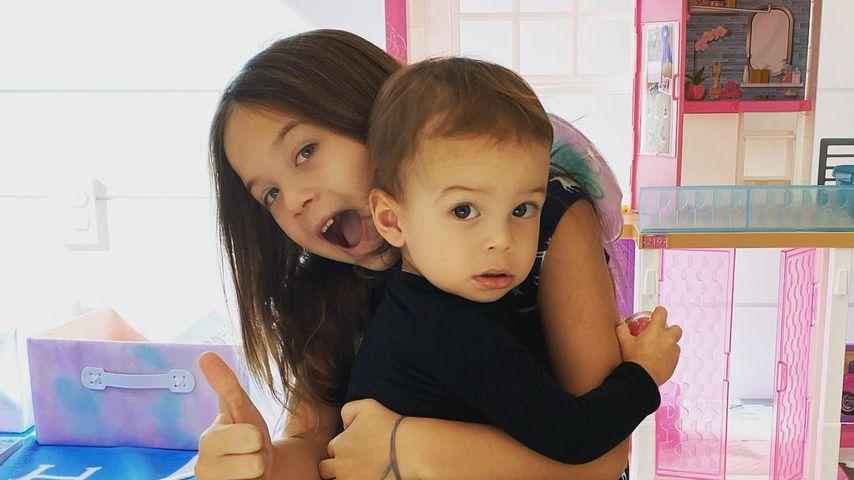 Everly und Callum, Jenna Dewans Kinder