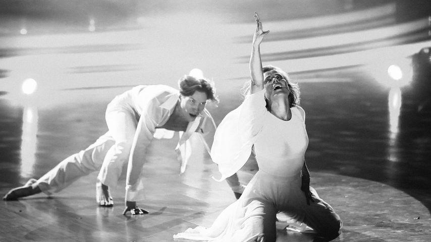 "Evgeny Vinokurov und Ilse DeLange, ehemalige ""Let's Dance""-Teilnehmer"