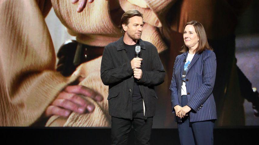 Ewan McGregor und Kathleen Kennedy, 2019