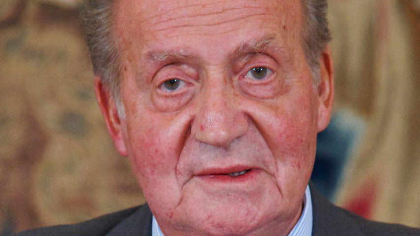 Ex-König Juan Carlos I., 2012