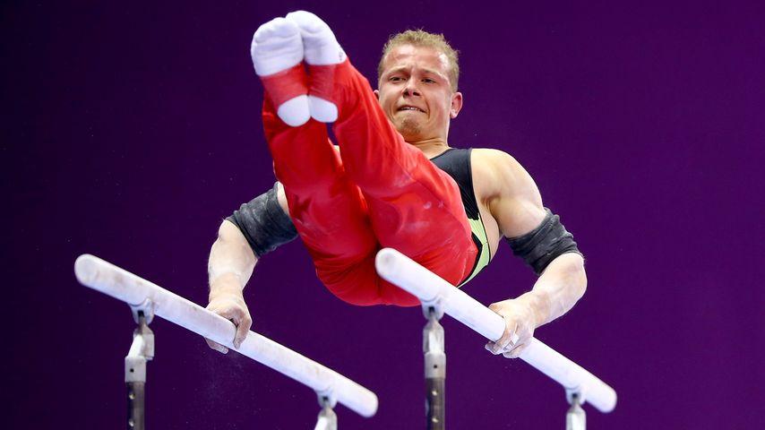 Fabian Hambüchen bei den European Games in Baku