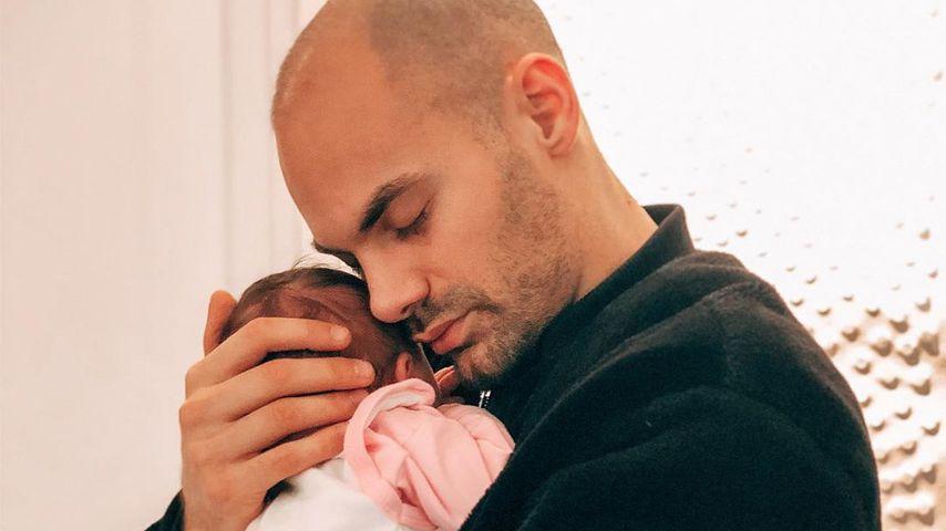 Fabian Nickel und seine Tochter