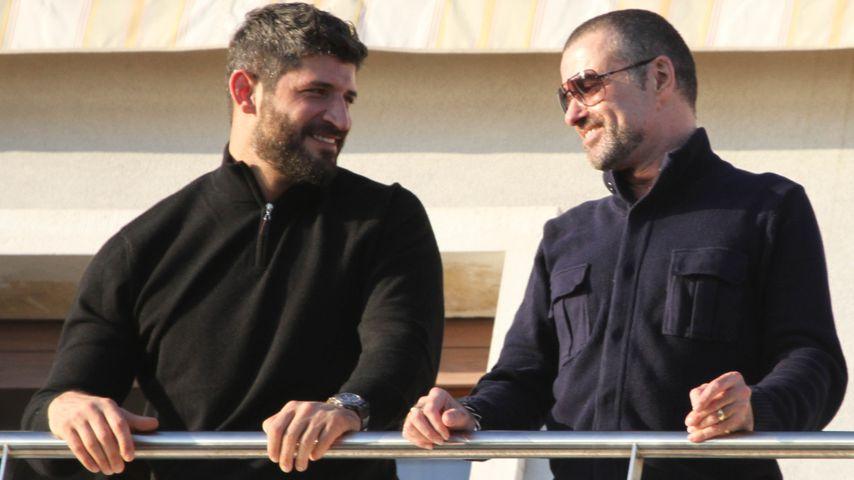 Fadi Fawaz und George Michael in Venedig