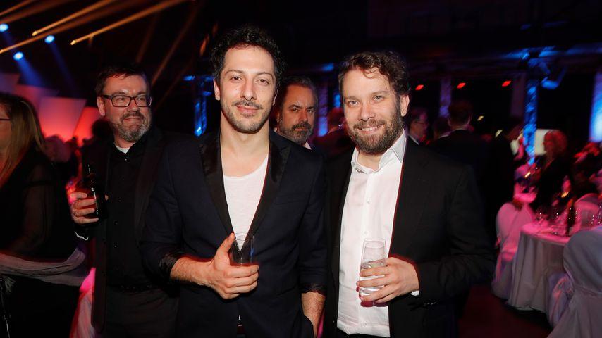 Fahri Yardim und Christian Ulmen beim Deutschen Fernsehpreis, 2018