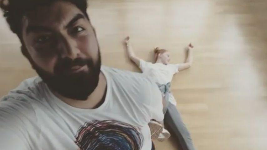 """Let's Dance""-Training: Faisal Kawusi legt Oana flach!"