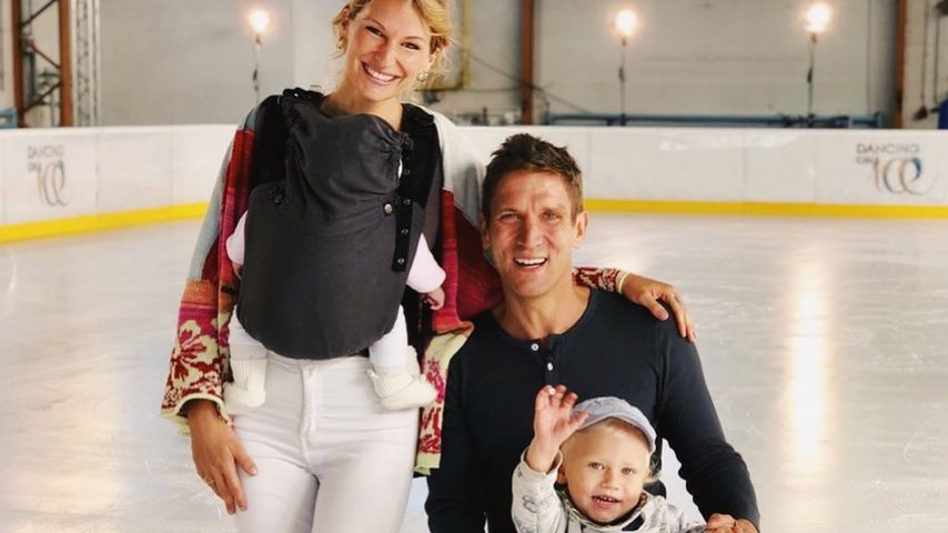 "Familie Kusmagk beim ""Dancing on Ice""-Training"