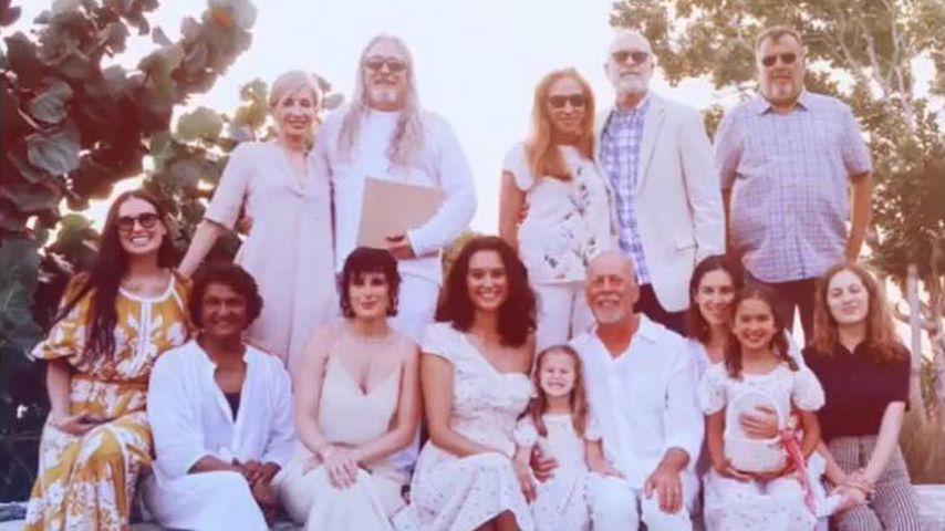 So geht Patchwork-Familie richtig: Bruce Willis macht's vor!