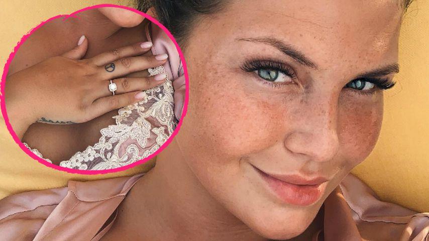 Klunker & breites Lächeln: Verlobungs-News bei Novalanalove?