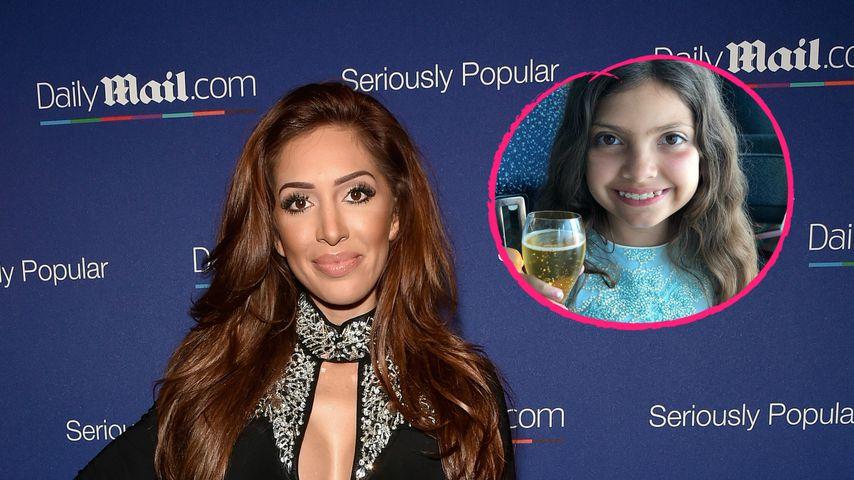 Farrah Abrahams Tochter (9): 150-$-Apfelsaft mit Blattgold