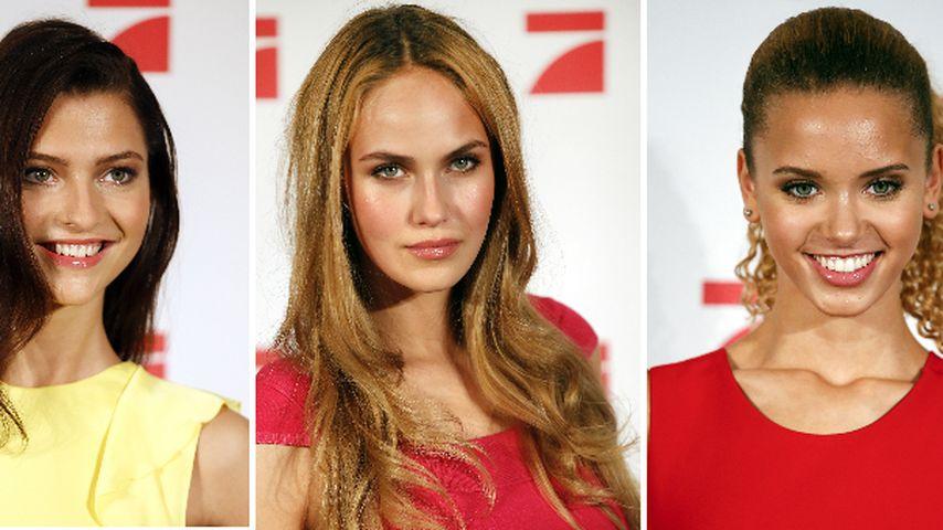 Alle lieben Elena C.! Das sind eure drei GNTM-Finalistinnen