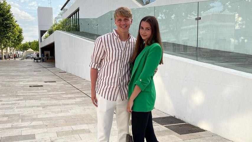 Felix Götze und seine Freundin Alisa