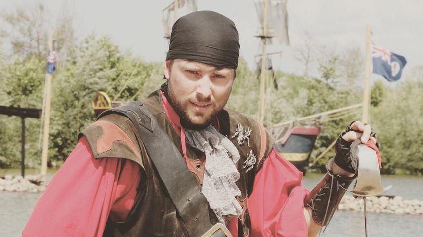 Felix von Jascheroff als Pirat