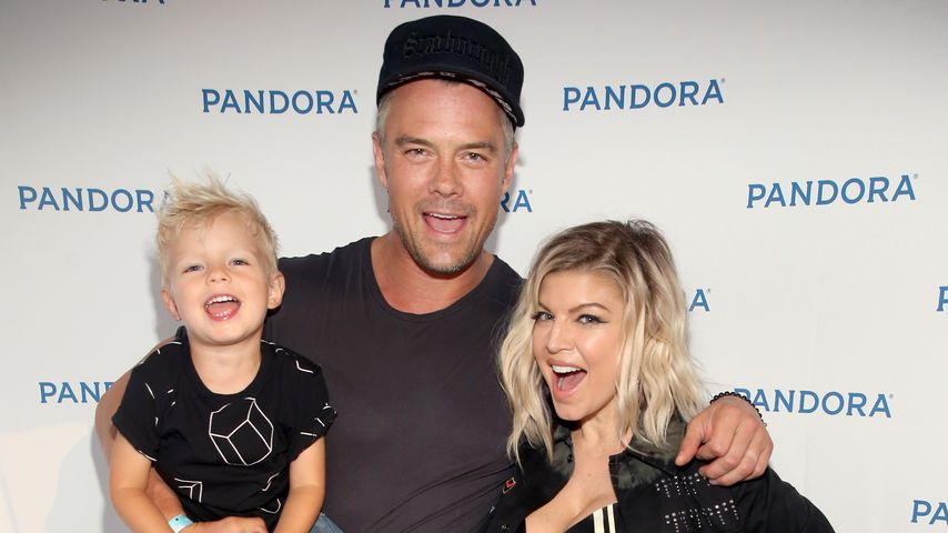 Axl Jack, Josh Duhamel und Fergie beim Pandora Summer Crush in Los Angeles