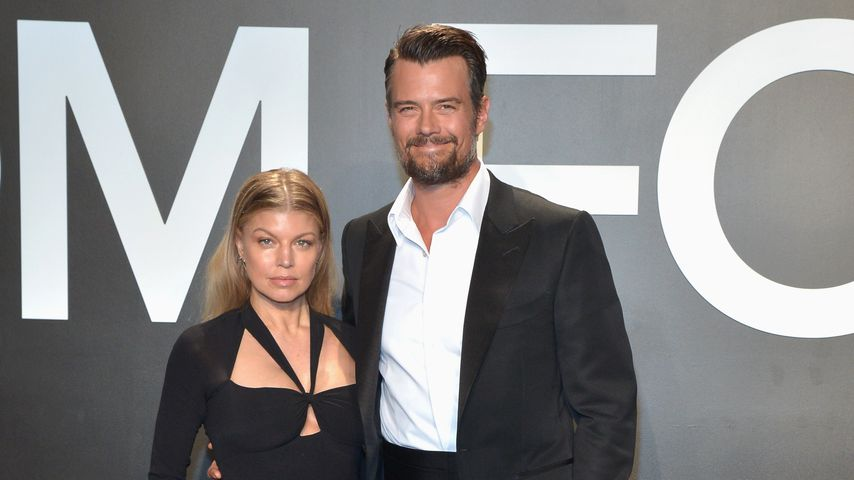 Fergie und Josh Duhamel 2015 in Los Angeles
