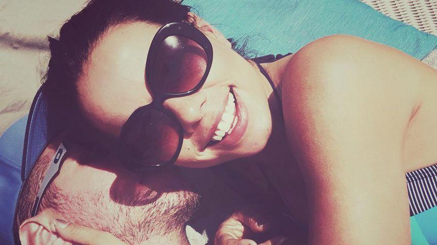 Fernanda Brandao (r.) kuschelt mit ihrem neuen Freund