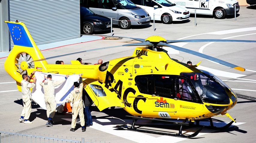 Formel-1-Unfall: Fernando Alonso im Krankenhaus
