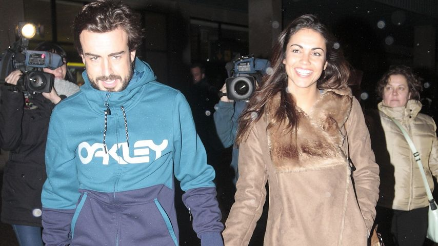 Fernando Alonso und Lara Alvarez