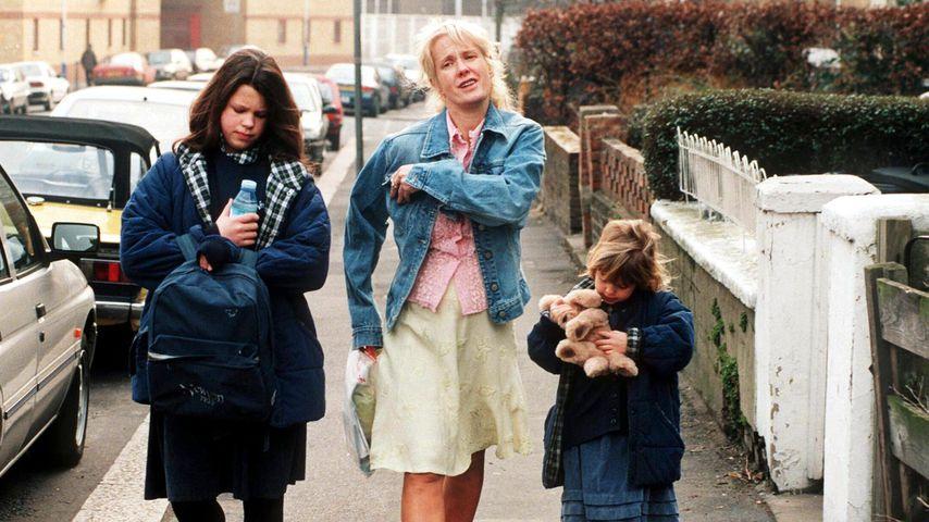 Fifi Geldof, Paula Yates und Peaches Geldof, 1996