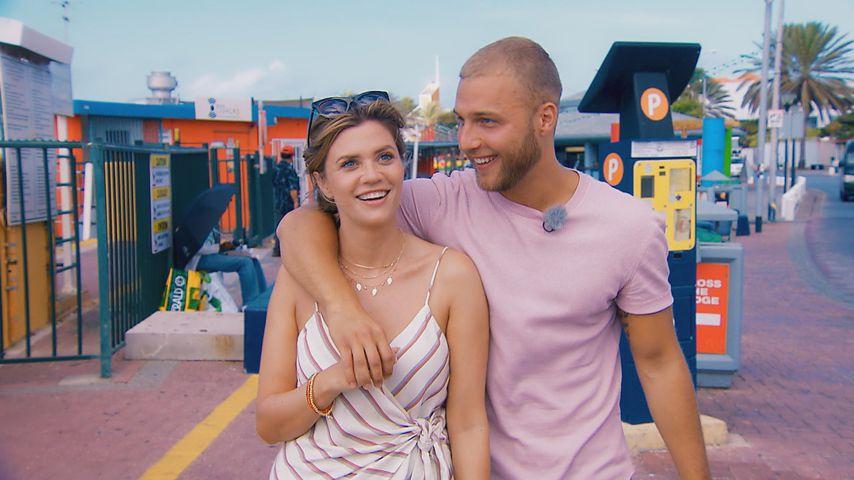 """Nadine Klein und Filip Pavlovic bei ihrem Dreamdate, """"Die Bachelorette"""""""