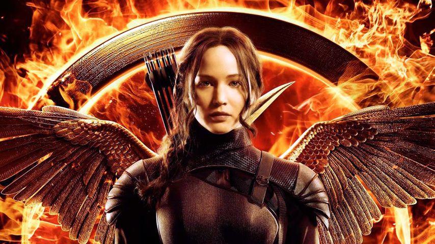 "Filmplakat von ""The Hunger Games: Mockingjay"""