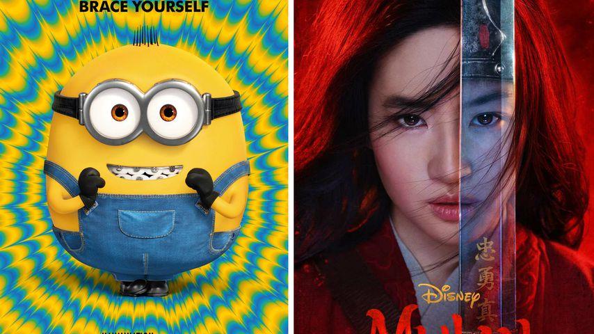 """""""Minions 2"""" und Co.: Diese Kino-Hits kommen nicht mehr 2020!"""