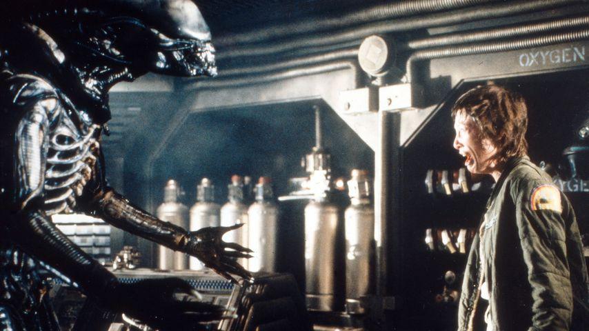 """Filmszene aus """"Alien – Das unheimliche Wesen aus einer fremden Welt"""", 1979"""