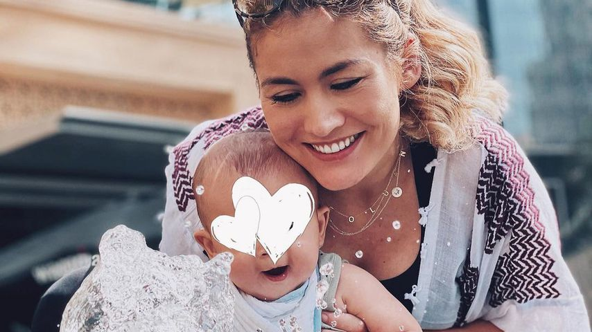 Wird Fiona Erdmann ihren Sohn Leo (1) jemals im Netz zeigen?