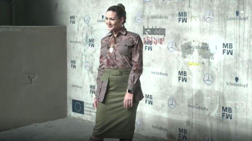 Klamotten passen nicht: Fiona Erdmann wiegt zehn Kilo mehr!