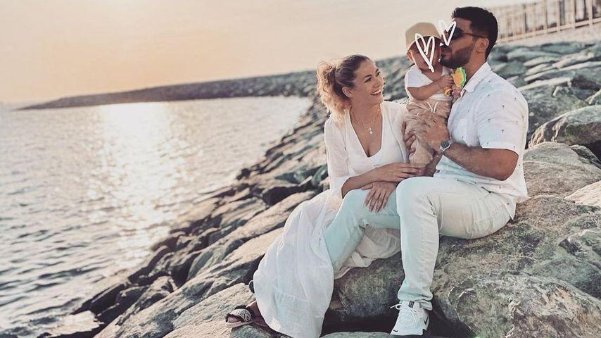 Fiona Erdmann mit ihrer Familie