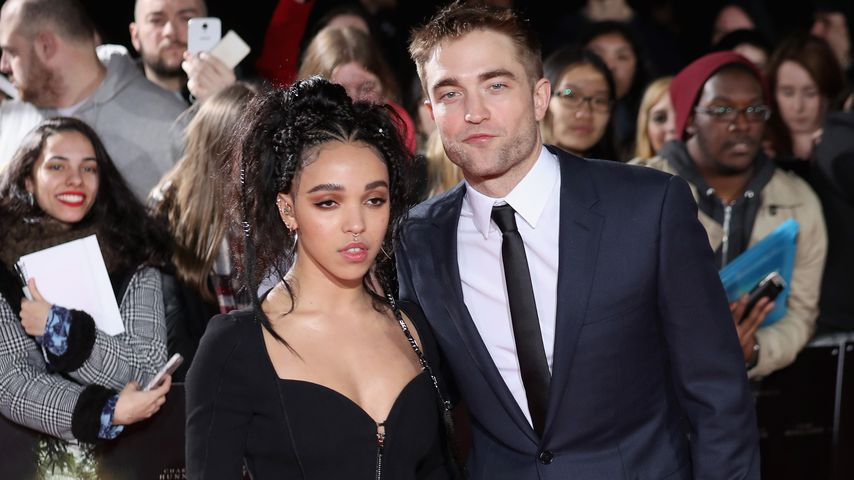 FKA Twigs und Rober Pattinson in London 2017