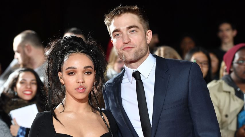 "FKA Twigs und Robert Pattinson bei der ""The Lost City Of Z""-Premiere in London"