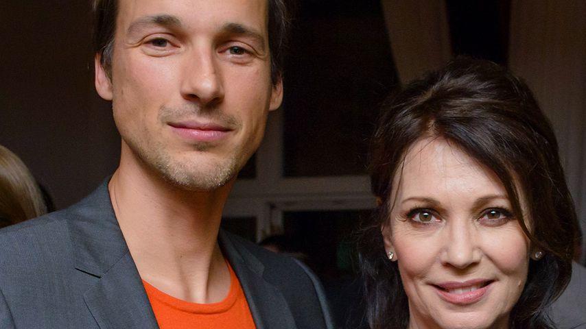 Florian David Fitz und Iris Berben bei einem Event