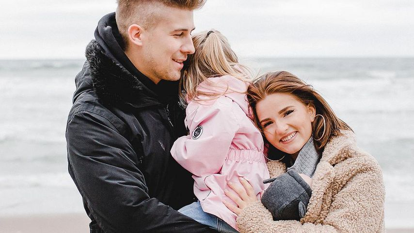 Florian Thiele und Julia Schulze mit ihren Kindern Mila und Leo
