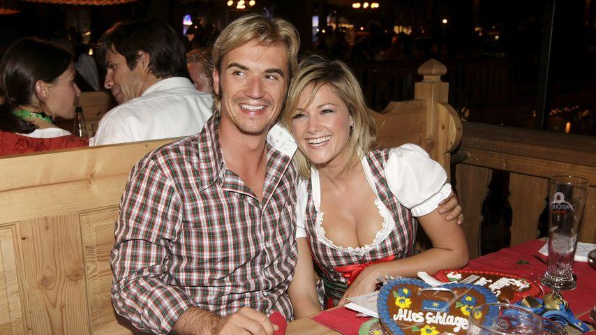 Florian Silbereisen und Helene Fischer beim Oktoberfest 2009