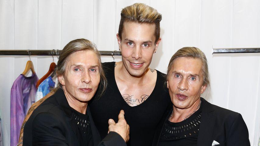 It-Boy Florian Wess mit Vater Arnold und Onkel Oscar Wess