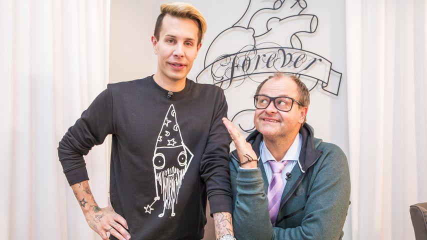 """Florian Wess und Markus Majowski bei """"Das Perfekte Promi-Dinner – Dschungel-Spezial"""""""