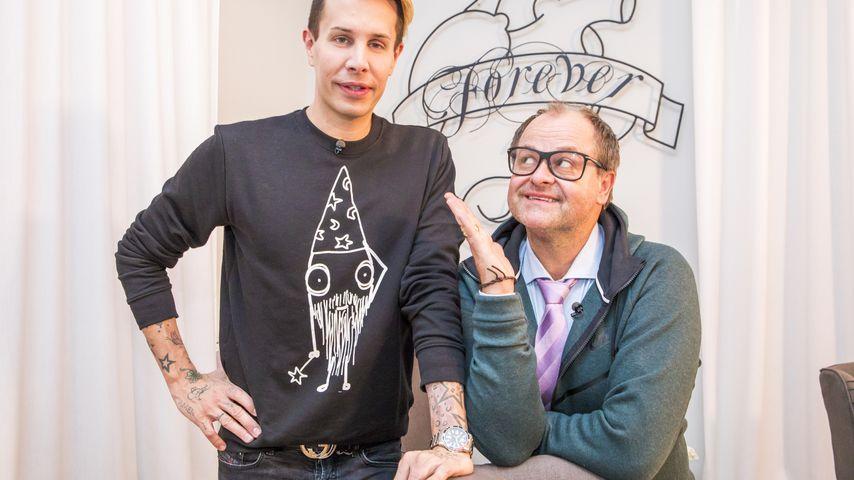 "Florian Wess und Markus Majowski bei ""Das perfekte Promi-Dinner"""