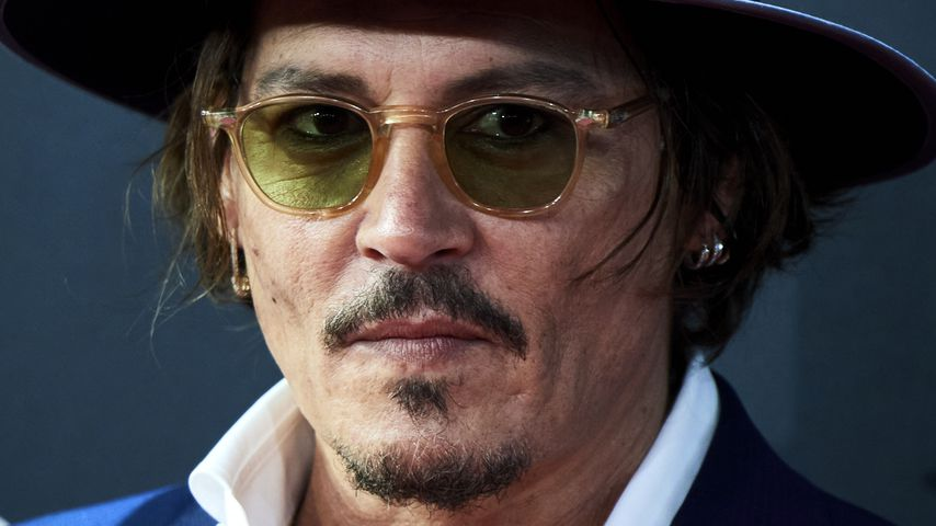 """Fluch der Karibik""-Star Johnny Depp"