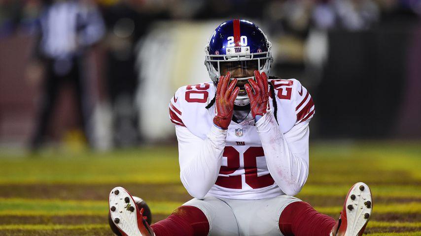 Football-Star Janoris Jenkins als Cornerback der New York Giants