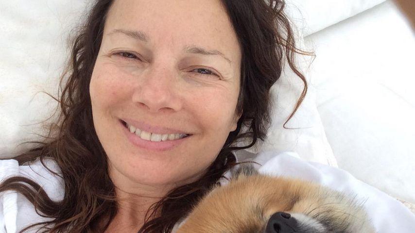 Im Krankenbett: Fran Drescher zeigt sich völlig ohne Make-up