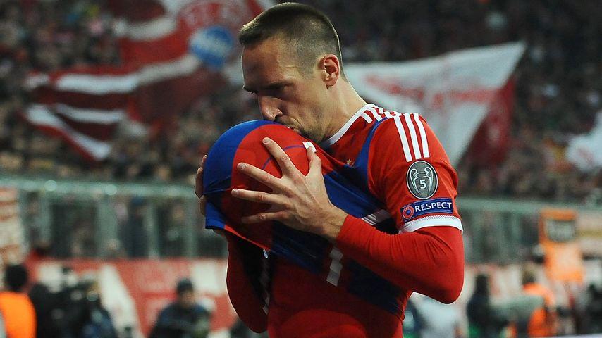 Baby-Jubel: Franck Ribéry wird wieder Papa!