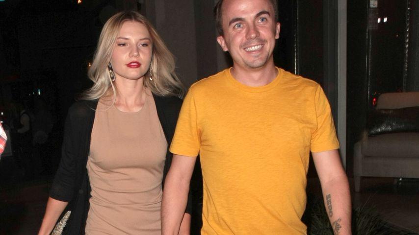 Frankie Muniz (l.) und seine Partnerin Paige Price
