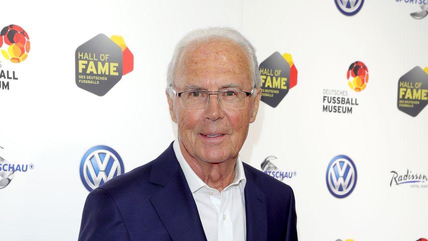 Franz Beckenbauer, 2019 in Dortmund