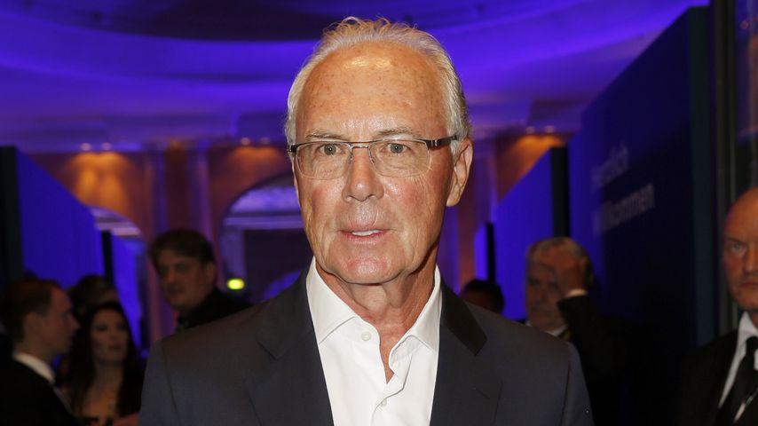 Ski-Unfall! Franz Beckenbauer am Kopf verletzt