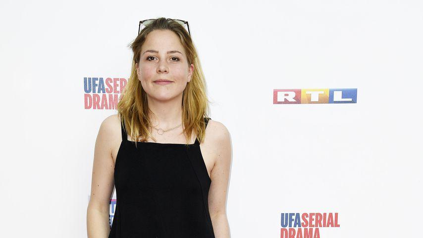 Franziska van der Heide beim 25-jährigen GZSZ-Jubiläum, Mai 2017