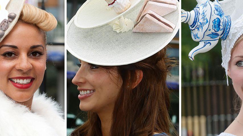 Ascot 2012: So abgefahren ist die bunte Hut-Schau