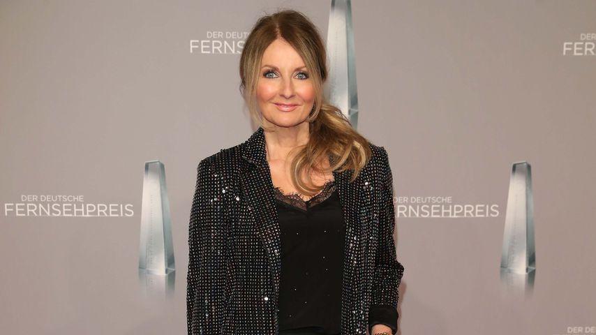 Frauke Ludowig beim Deutschen Fernsehpreis 2019