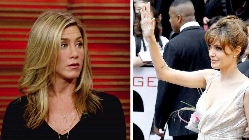 Jennifer Aniston: Post von Erzfeindin Jolie