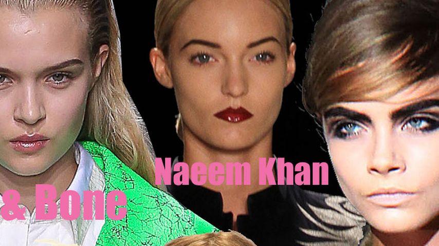 NY Fashion Week: Die coolsten Laufsteg-Frisuren